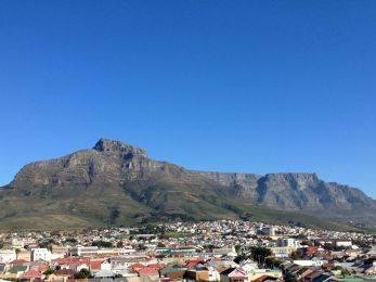 table mountain from woodstock